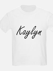 Kaylyn artistic Name Design T-Shirt