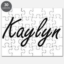 Kaylyn artistic Name Design Puzzle