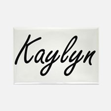 Kaylyn artistic Name Design Magnets