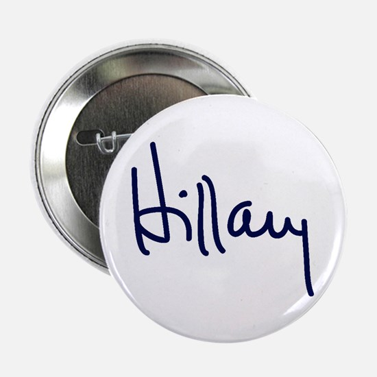 "Hillary Signature 2.25"" Button (10 pack)"