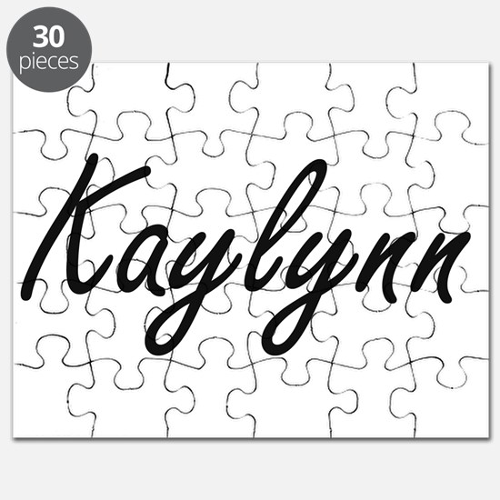 Kaylynn artistic Name Design Puzzle