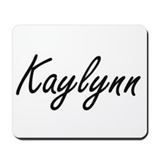 Kaylynn artistic Name Design Mousepad