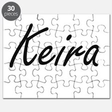 Keira artistic Name Design Puzzle