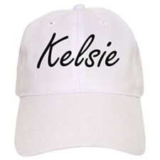 Kelsie artistic Name Design Baseball Cap