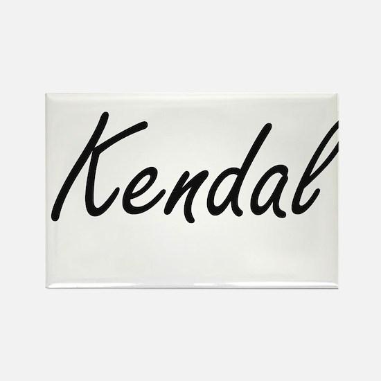 Kendal artistic Name Design Magnets