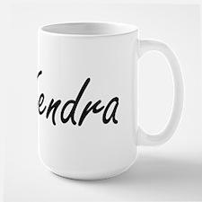 Kendra artistic Name Design Mugs