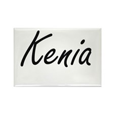 Kenia artistic Name Design Magnets