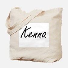 Kenna artistic Name Design Tote Bag