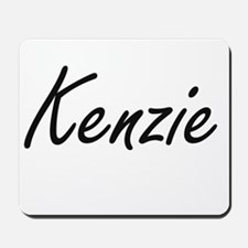 Kenzie artistic Name Design Mousepad
