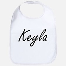 Keyla artistic Name Design Bib