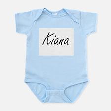 Kiana artistic Name Design Body Suit