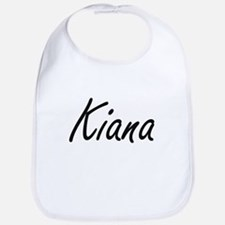 Kiana artistic Name Design Bib