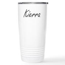 Kierra artistic Name De Travel Coffee Mug
