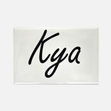 Kya artistic Name Design Magnets