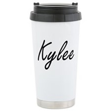 Kylee artistic Name Des Travel Mug
