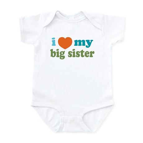Love Big Sister Infant Bodysuit