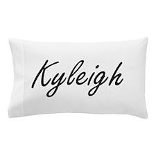 Kyleigh artistic Name Design Pillow Case