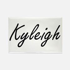 Kyleigh artistic Name Design Magnets