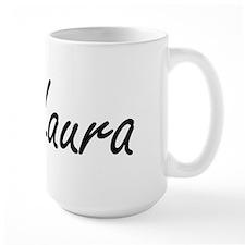 Laura artistic Name Design Mugs