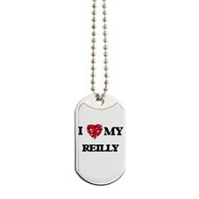 I Love MY Reilly Dog Tags