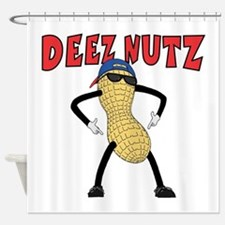 DEEZ NUTZ Shower Curtain