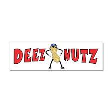 DEEZ NUTZ Car Magnet 10 x 3