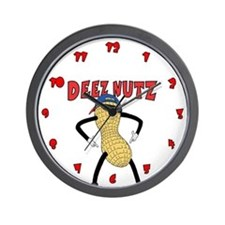 DEEZ NUTZ Wall Clock
