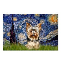 STARRY / Yorkie (17) Postcards (Package of 8)