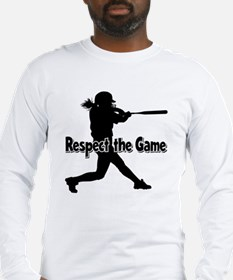RESPECT THE GAME Long Sleeve T-Shirt
