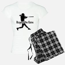 RESPECT THE GAME Pajamas