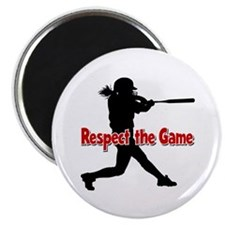 RESPECT THE GAME Magnet