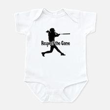 RESPECT THE GAME Infant Bodysuit