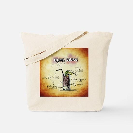 Cute Cuba libre Tote Bag