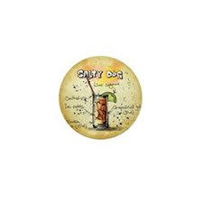 Cute Salty dog Mini Button