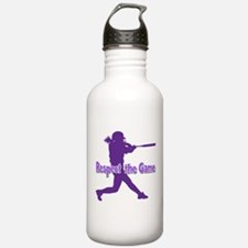 RESPECT THE GAME Water Bottle