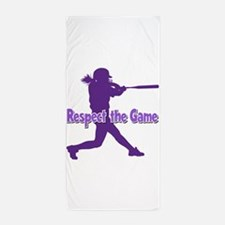 RESPECT THE GAME Beach Towel