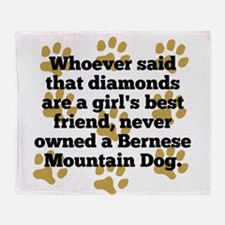 Bernese Mountain Dogs Are A Girls Best Friend Thro
