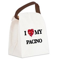 I Love MY Pacino Canvas Lunch Bag