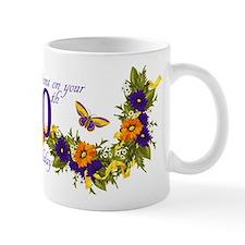 90th Birthday Mug With Butterflies And Mugs