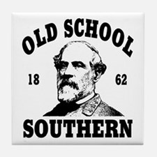 Old School Southern Tile Coaster