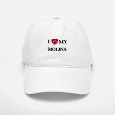 I Love MY Molina Baseball Baseball Cap