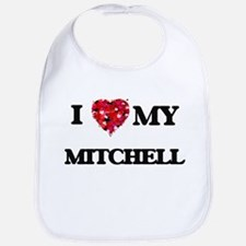 I Love MY Mitchell Bib