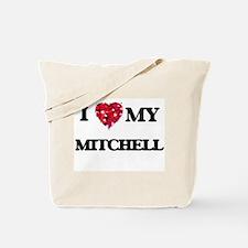 I Love MY Mitchell Tote Bag