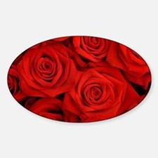 Red Roses Decal