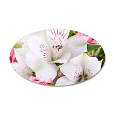 Lilies And Roses Bouchet Wall Sticker