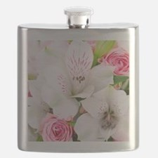 Lilies And Roses Bouchet Flask