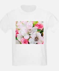 Lilies And Roses Bouchet T-Shirt