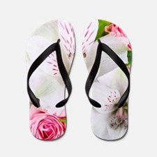 Lilies And Roses Bouchet Flip Flops