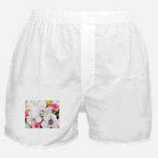 Lilies And Roses Bouchet Boxer Shorts