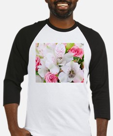 Lilies And Roses Bouchet Baseball Jersey